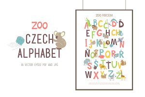 ZOO CZECH ALPHABET