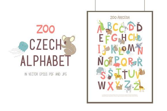 ZOO CZECH ALPHABET
