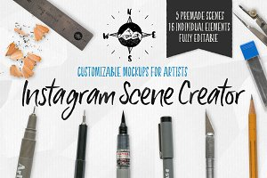 Artist Scene Creator: Social Media