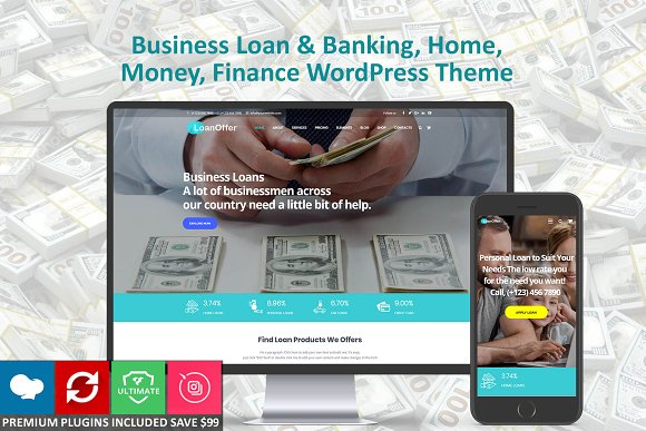 Business Loan Banking Home Money