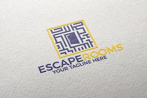 Escape Rooms | Logo