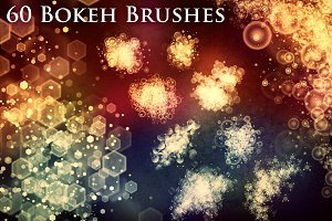 60 Bokeh Brushes & PNG