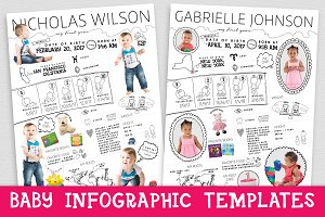 Baby Infographic - Poster Template