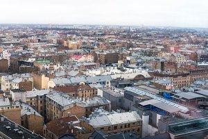 Riga aerial view