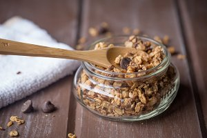 Oats and Almond Granola