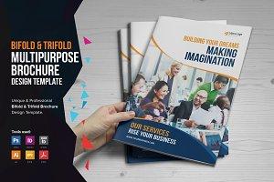 Multipurpose Bifold-Trifold Brochure