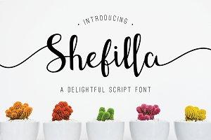 Shefilla Script Font