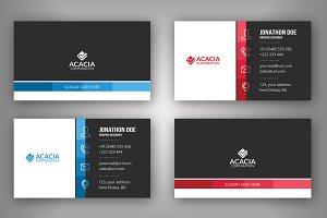 A4 Business Card