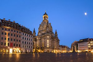 Dresden historic center