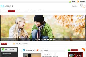 B Venus 2 - Light and Bright Joomla