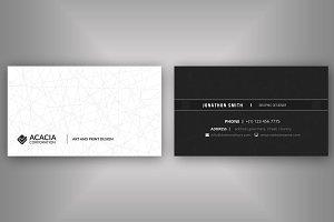 A8 Business Card