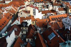 Prague city, heart of Europe