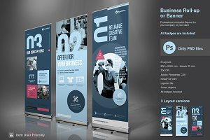 Business Roll-Up Vol. 2 PSD