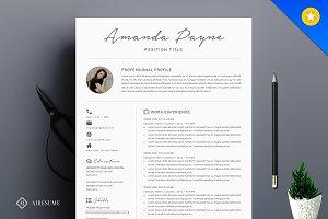 Minimal Resume/CV Template