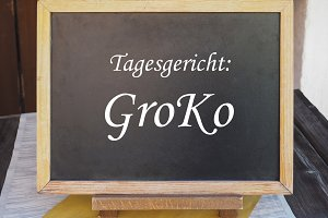 Tagesgericht Groko (meaning Dish of the Day: Grand Coalition)