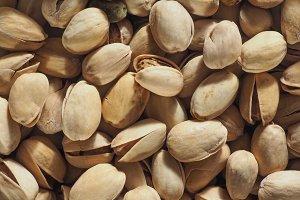 pistachios food background