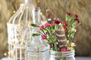 Crystal Dried Flower Setup 2