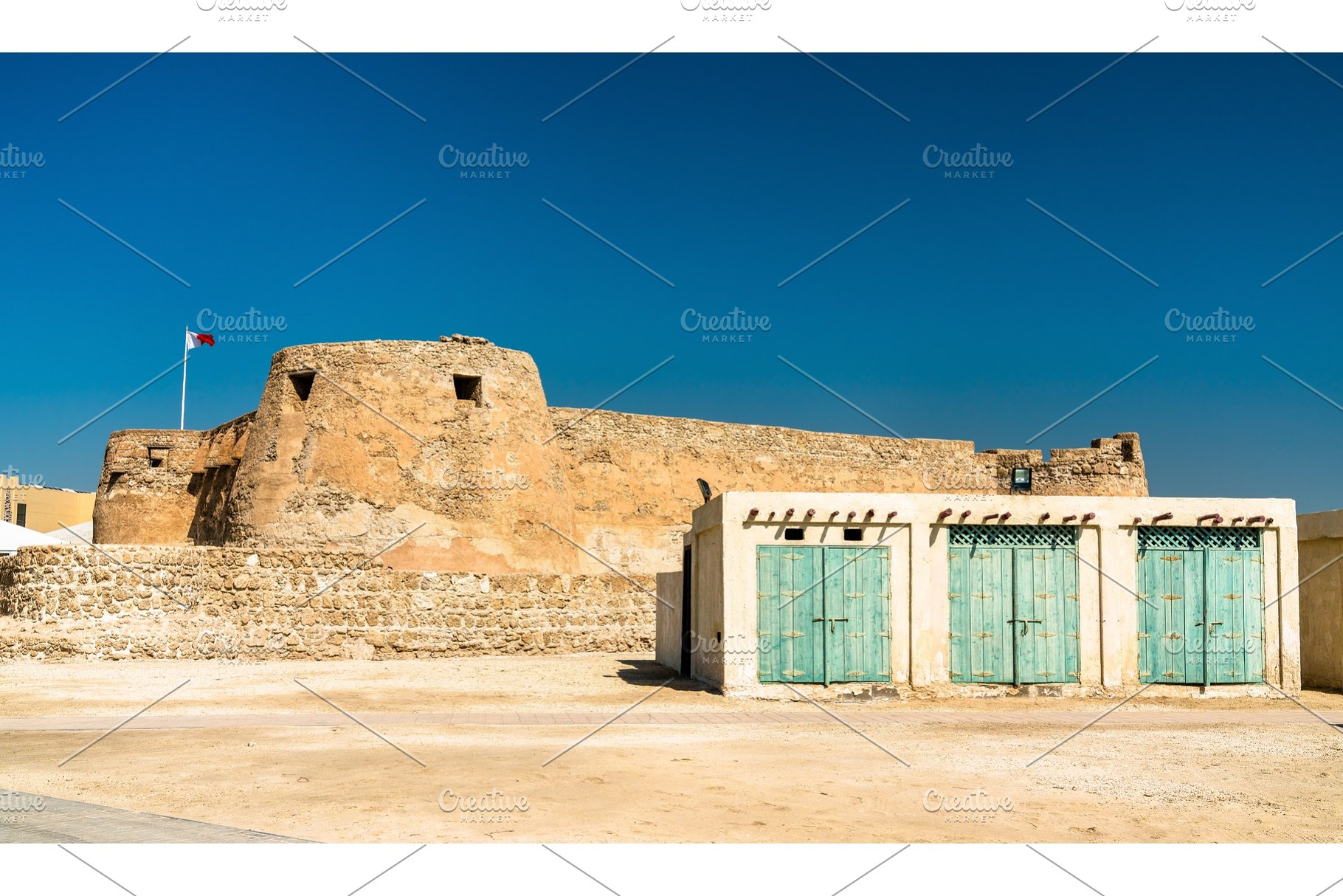 Arad Fort on Muharraq Island in Bahrain