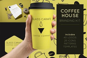 Coffee House Branding Kit