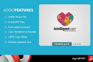 Intelligent Care | Logo Template