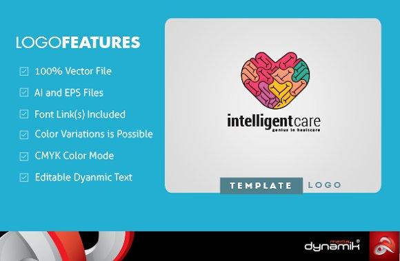 Intelligent Care | Logo Template