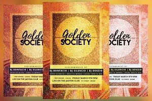 Golden Society Flyer