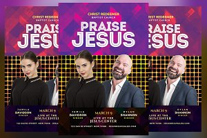 Praise Jesus Flyer