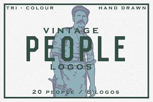 Vintage People Logos