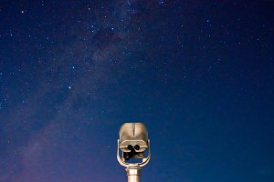Star Gazing with binocular