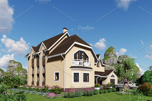 3D Visualization House