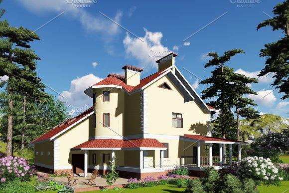 3D Visualization Mansion