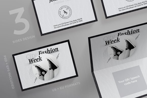 Business Cards Fashion Week