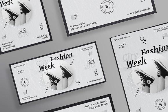 Flyers | Fashion Week