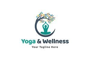 Yoga & Wellness Logo