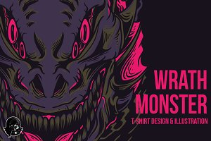 Wrath Monster Illustration