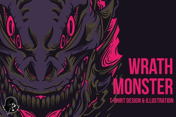 Wrath Monster Illustration