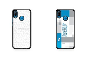Huawei P20 Lite 2d PC Colored Case