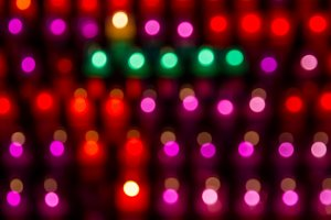 Blurred colored lights (1)