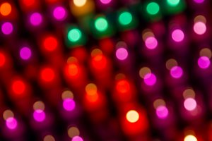 Blurred colored lights (2)