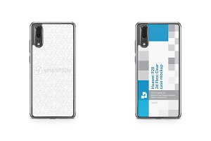 Huawei P20 2d Flexi Clear Case