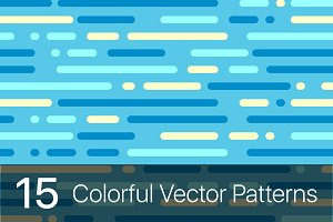 15 Colorful geometric patterns
