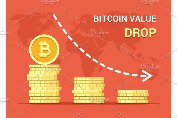 Bitcoin Value Drop Down