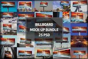 Billboard Mock-up Bundle #2