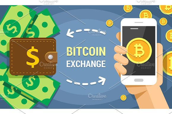 Bitcoin Exchanging On Dollar Cash