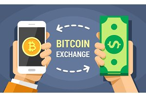 Exchange the dollar on bitcoin