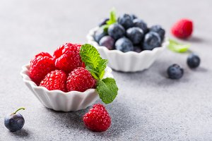 Fresh healthy berries
