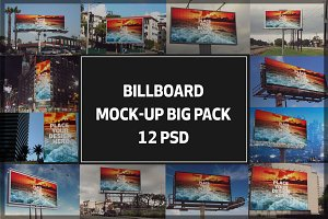 Billboard Mock-up Bigpack#3