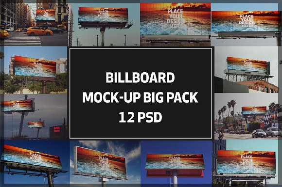 Billboard Mock-up Bigpack#4