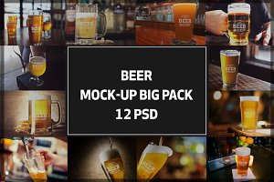 Beer Mock-up Bigpack#4