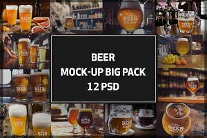 Beer Mock-up Bigpack#5